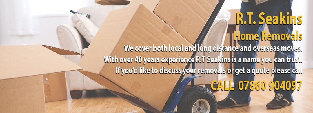 RT Seakins Removals Norfolk